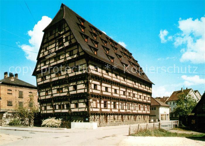 AK / Ansichtskarte Geislingen_Steige Alter Bau Heimatmuseum Geislingen_Steige