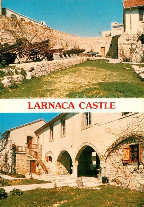 AK / Ansichtskarte Larnaca Castle Schloss  Larnaca