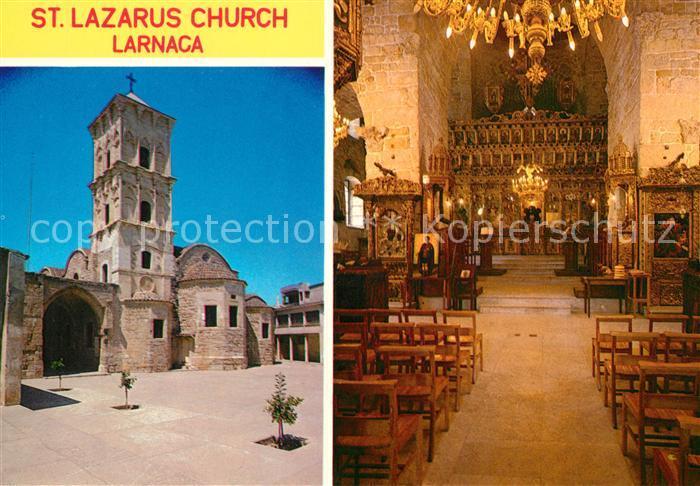 AK / Ansichtskarte Larnaca St. Lazarus Church  Larnaca