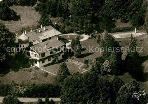 AK / Ansichtskarte Grafenaschau Fliegeraufnahme Schloss Pension  Grafenaschau