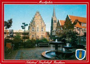 AK / Ansichtskarte Schuettorf Grafschaft Bentheim Brunnen Schuettorf