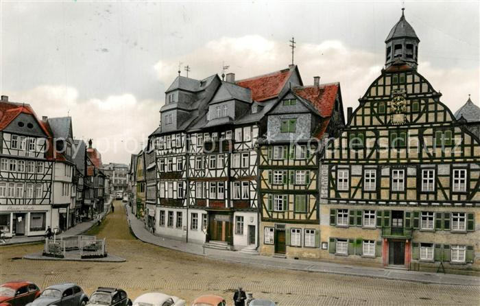 AK / Ansichtskarte Butzbach Marktplatz Butzbach