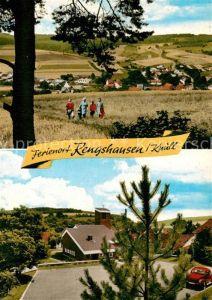 AK / Ansichtskarte Rengshausen_Knuellwald Rengshausen Kirche Rengshausen Knuellwald
