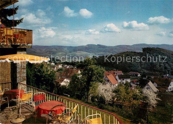 AK / Ansichtskarte Lindenfels_Odenwald Waldhotel Haus Luginsland  Lindenfels Odenwald