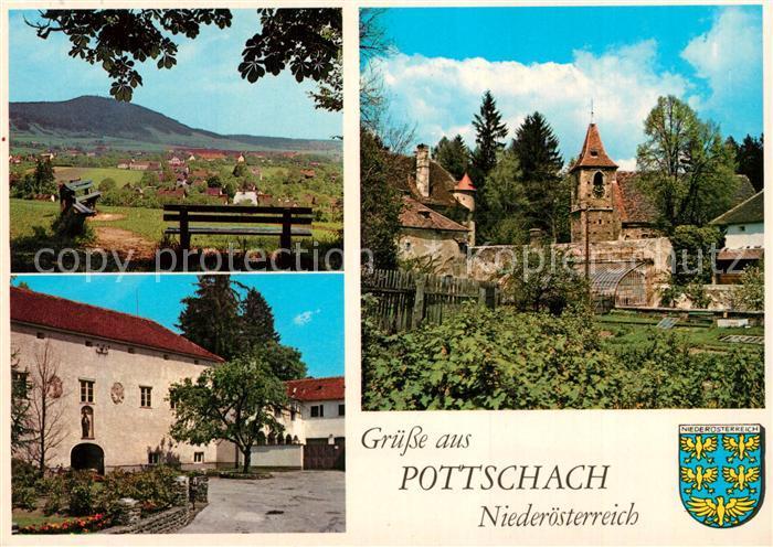 AK / Ansichtskarte Pottschach Pfarrkirche Panorama Pottschach