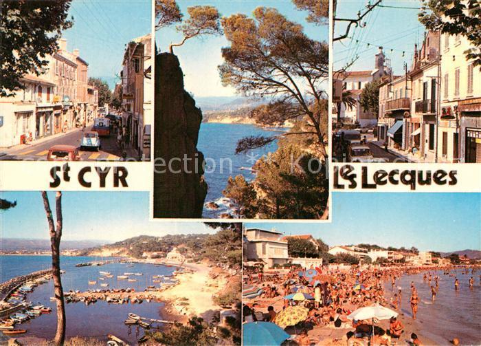 AK / Ansichtskarte Saint Cyr les Lecques Stadtansichten Saint Cyr les Lecques