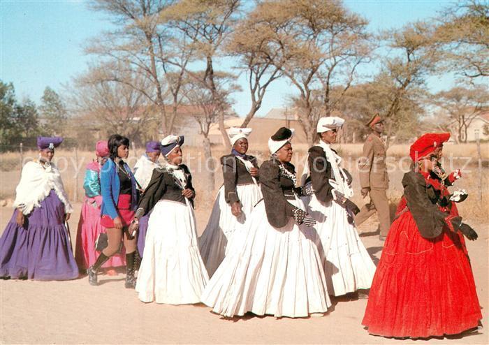 AK / Ansichtskarte Okahandja Otjioserandu Herero day Okahandja