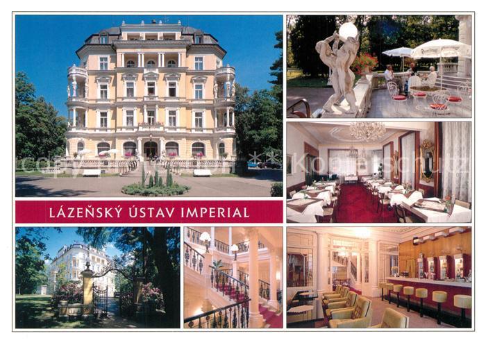 AK / Ansichtskarte Frantiskovy_Lazne Lazensky Ustav Imperial Frantiskovy_Lazne