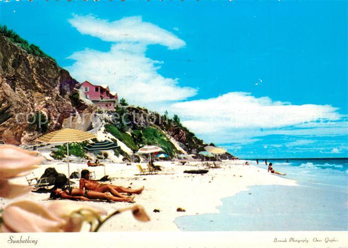 AK / Ansichtskarte Bermuda South Shore Strand Bermuda