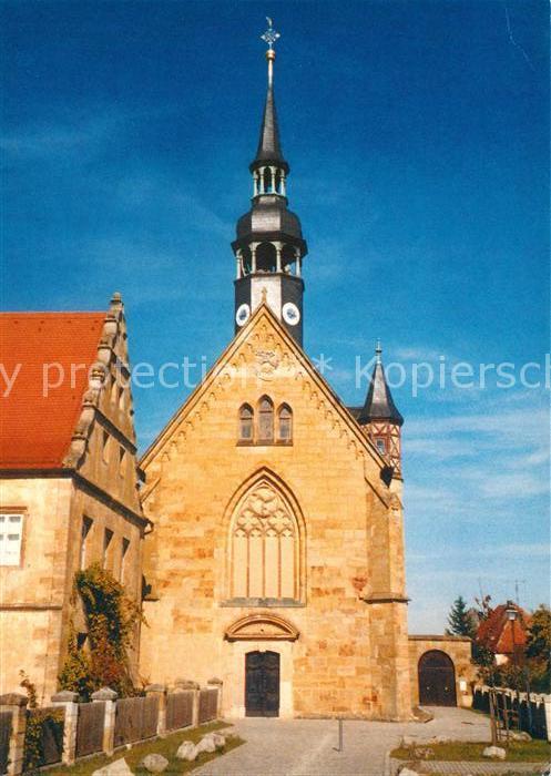 AK / Ansichtskarte Schluesselau Pfarr und Wallfahrtskirche Schmerzhafte Dreifaltigkeit Schluesselau