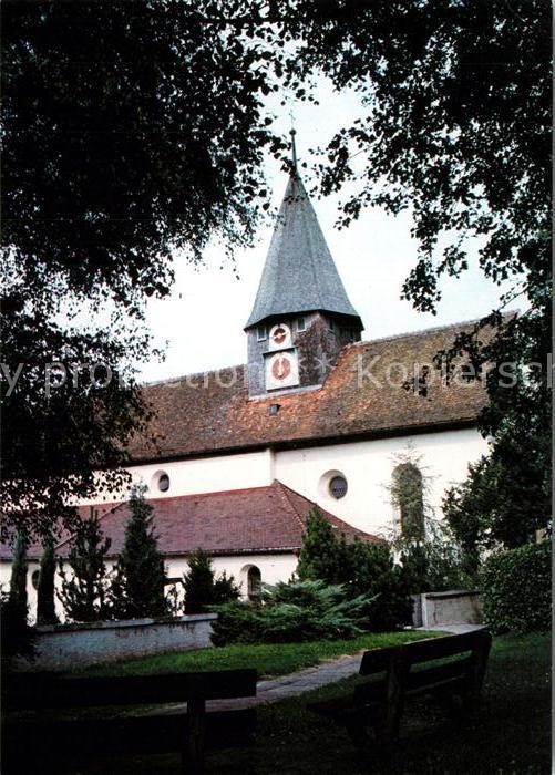 AK / Ansichtskarte Schienen Wallfahrtskirche  Schienen