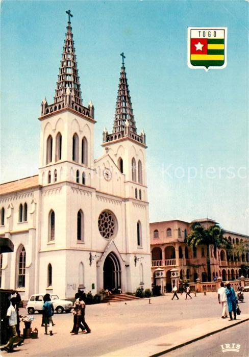 AK / Ansichtskarte Lome La Cathedrale Lome