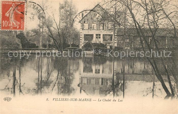AK / Ansichtskarte Villiers sur Marne Chalet du Lac Villiers sur Marne