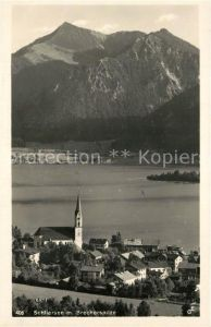 AK / Ansichtskarte Schliersee Brecherspitze Schliersee