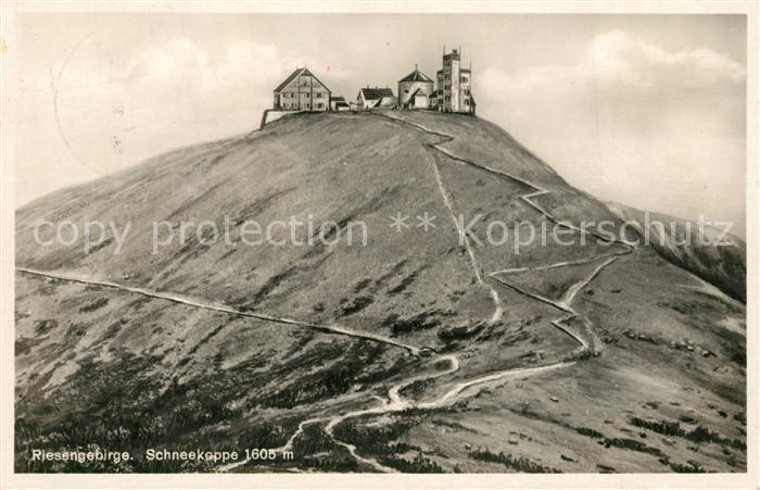 AK / Ansichtskarte Riesengebirge Schneekoppe  Riesengebirge
