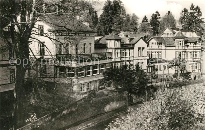 AK / Ansichtskarte Friedrichroda Sanatorium Tannenhof  Friedrichroda