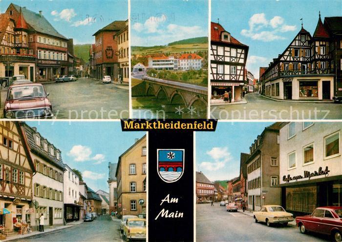 Ak Ansichtskarte Marktheidenfeld Gasthof Zur Schoenen Aussicht Marktheidenfeld