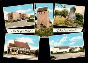 AK / Ansichtskarte Watenstedt_Salzgitter Kirche Ehrenmal Katholische Kirche Watenstedt_Salzgitter