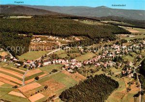 AK / Ansichtskarte Kortelshuette Fliegeraufnahme Gasthaus zum weissen Lamm Katzenbuckel Kortelshuette