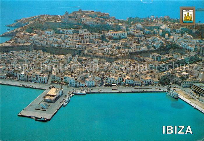 AK / Ansichtskarte Ibiza Isla Blanca Fliegeraufnahme Ibiza