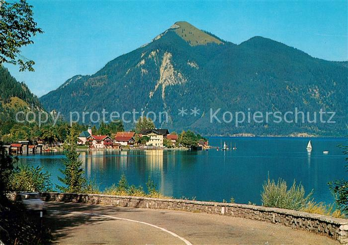 AK / Ansichtskarte Walchensee Jochberg Walchensee