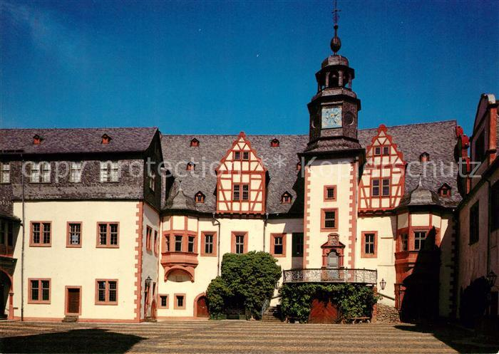 AK / Ansichtskarte Weilburg Schloss Ostfluegel Hochschloss Weilburg