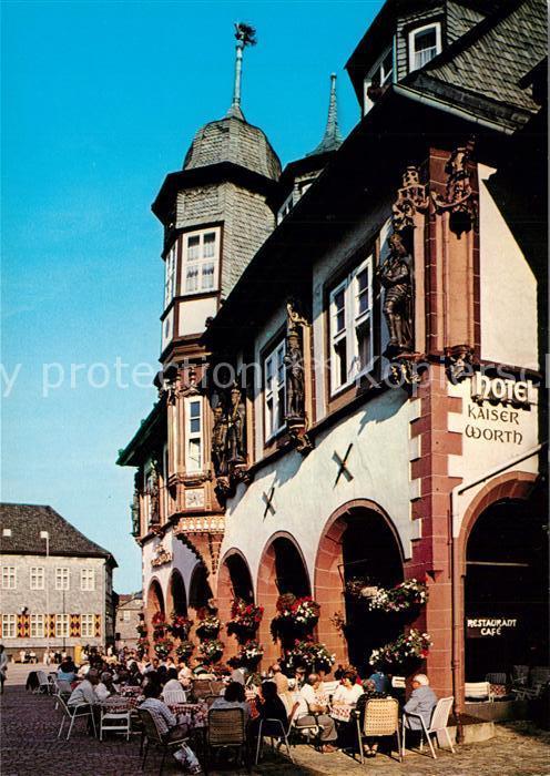 AK / Ansichtskarte Goslar Kaiserworth Goslar