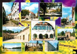 AK / Ansichtskarte Germersheim Teilansichten Altes Rathaus Teilansichten Germersheim