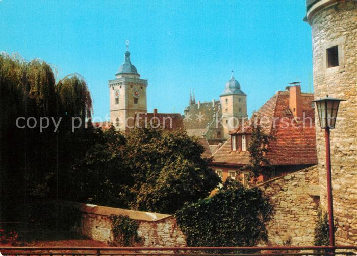 AK / Ansichtskarte Marktbreit Schloss Marktbreit