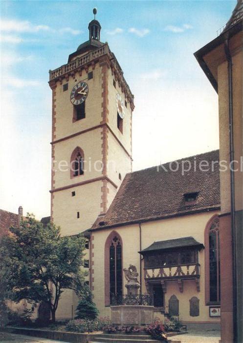 AK / Ansichtskarte Marktbreit Ev Nikolaikirche Marktbreit