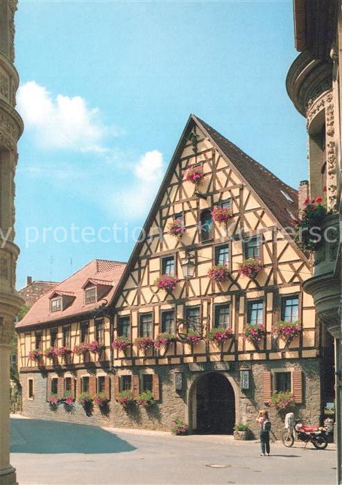 AK / Ansichtskarte Marktbreit Hotel Loewen Marktbreit