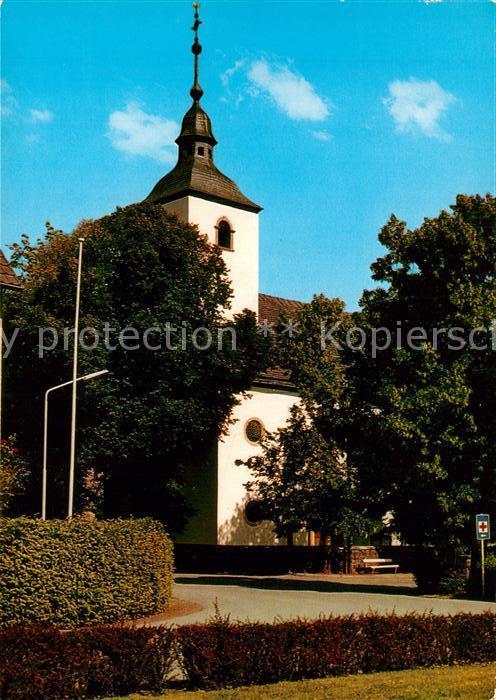 AK / Ansichtskarte Wehrden Kirche Wehrden