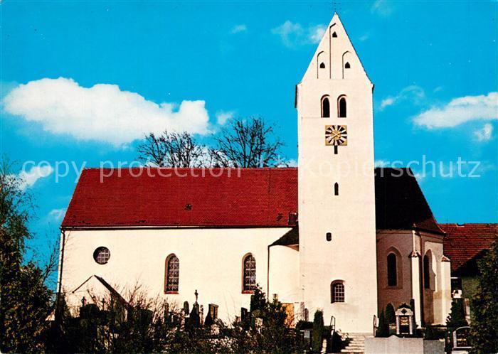 AK / Ansichtskarte Gebrontshausen Wallfahrtskirche Maria auf dem Weissen Berg Gebrontshausen