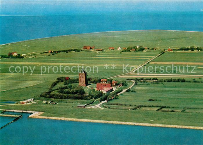 AK / Ansichtskarte Insel_Neuwerk Fliegeraufnahme Insel Neuwerk