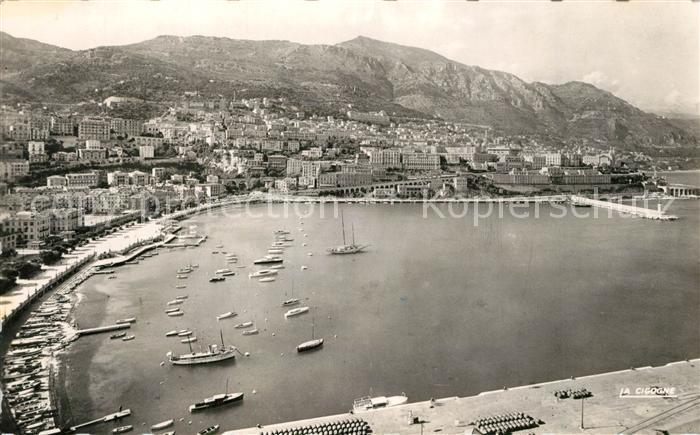 AK / Ansichtskarte Monte Carlo Vue panoramique sur la Condamine Principaute de Monaco Monte Carlo