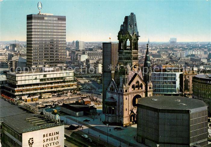 AK / Ansichtskarte Berlin Europa Center Kaiser Wilhelm Gedaechtniskirche Berlin