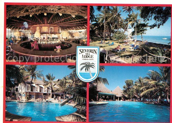 AK / Ansichtskarte Mombasa Severin Sea Lodge Swimming Pool Beach Mombasa