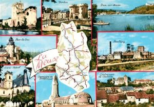 AK / Ansichtskarte Verdun_Meuse Bar le Duc Boulgny Chateau Verdun Meuse