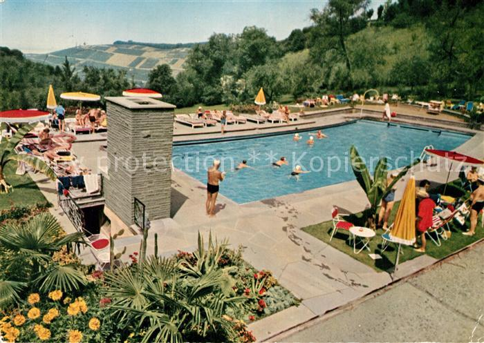 AK / Ansichtskarte Badenweiler Schwimmbad Hotel Roemerbad Badenweiler
