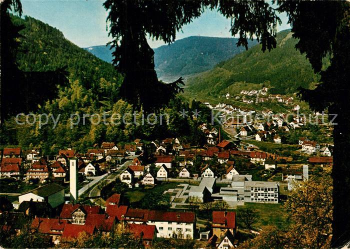 AK / Ansichtskarte Calmbach_Enz  Calmbach Enz