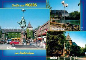 AK / Ansichtskarte Moers Neumarkt Koenigsee Schloss Moers