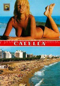 AK / Ansichtskarte Calella Badenixe Strand Hotels Calella