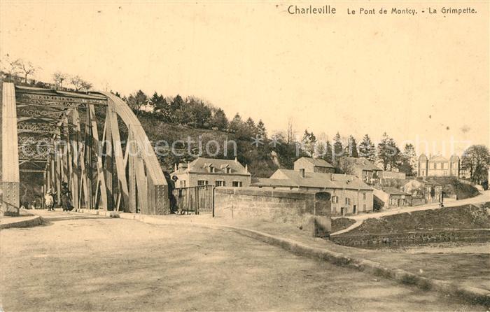 AK / Ansichtskarte Charleville sous Bois Pont de Montcy La Grimpette Charleville sous Bois