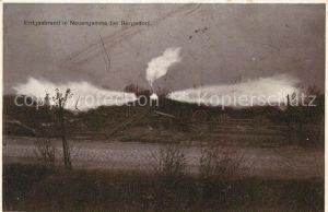 AK / Ansichtskarte Neuengamme Erdgasbrand Neuengamme