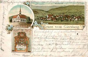 AK / Ansichtskarte Kirchzarten Giersberg  Kirchzarten