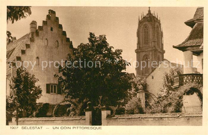 AK / Ansichtskarte Selestat_Bas_Rhin_Elsass Un coin Pittoresque Selestat_Bas_Rhin_Elsass