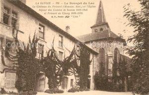 AK / Ansichtskarte Bourget du Lac_Savoie_Le Chateau du Prieure Eglise Sejour des Comtes de Savoia Bourget du Lac_Savoie_Le