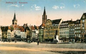 AK / Ansichtskarte Strasburg Kleberplatz Strasburg