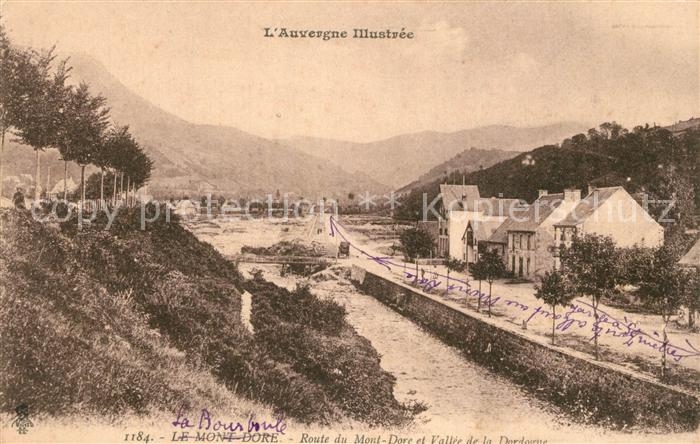 AK / Ansichtskarte Le_Mont Dore Route du Mont Le_Mont Dore