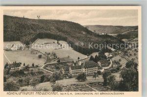 AK / Ansichtskarte Freudenstadt Christophsthal Bärenschlösschen Freudenstadt